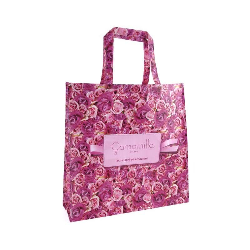 Shopper Roses Zip Grande