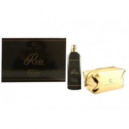 Cofanetto Capucci Rose Parfum Spray 100 mL + Pochette Oro